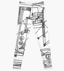 abstract X Leggings