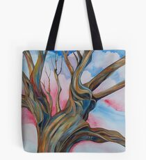 Fourth of July - the Happy Tree Tote Bag