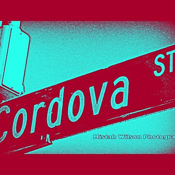 Cordova Street BLUE ACAI Pasadena California by Mistah Wilson Photography by MistahWilson
