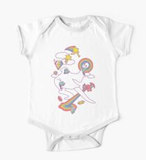 Space Magic Short Sleeve Baby One-Piece