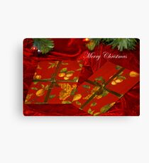 Uopened Gifts - Blog  Canvas Print