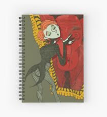 Dorian Gray Complex Spiral Notebook