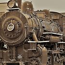 Old Fashioned Steam Engine by Doug Michael