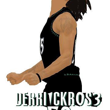 Derrick Rose 50 by nbagradas
