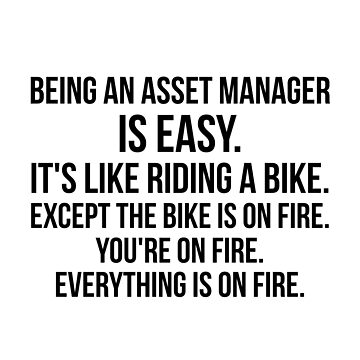Being An Asset Manager Is Easy by Renware