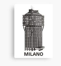 Milan, Italy architecture - Torre Velasca Metal Print