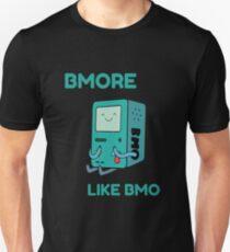 Camiseta unisex Bmore como BMO