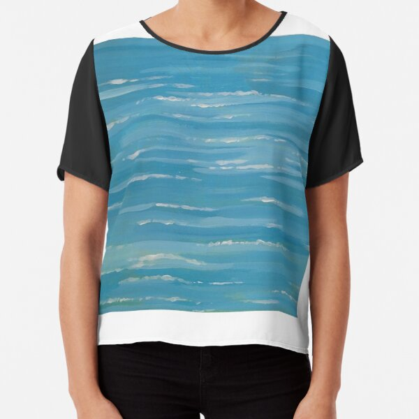 The Sea Chiffon Top