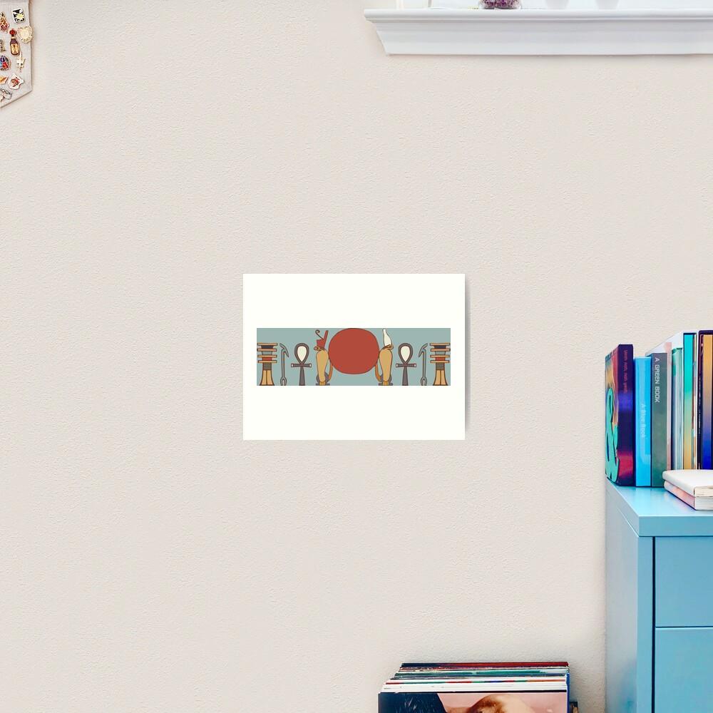 Life, Dominion, Stability  Art Print