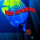 Keep Exploring fashion design A by David Lee Thompson