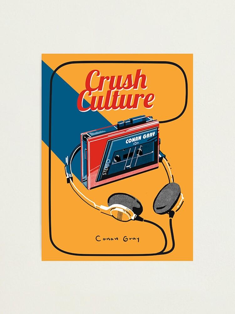 Alternate view of conan gray crush culture Photographic Print