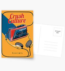Conan Grey Crush-Kultur Postkarten