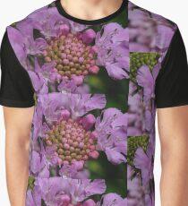Scabiosa Flower  Graphic T-Shirt
