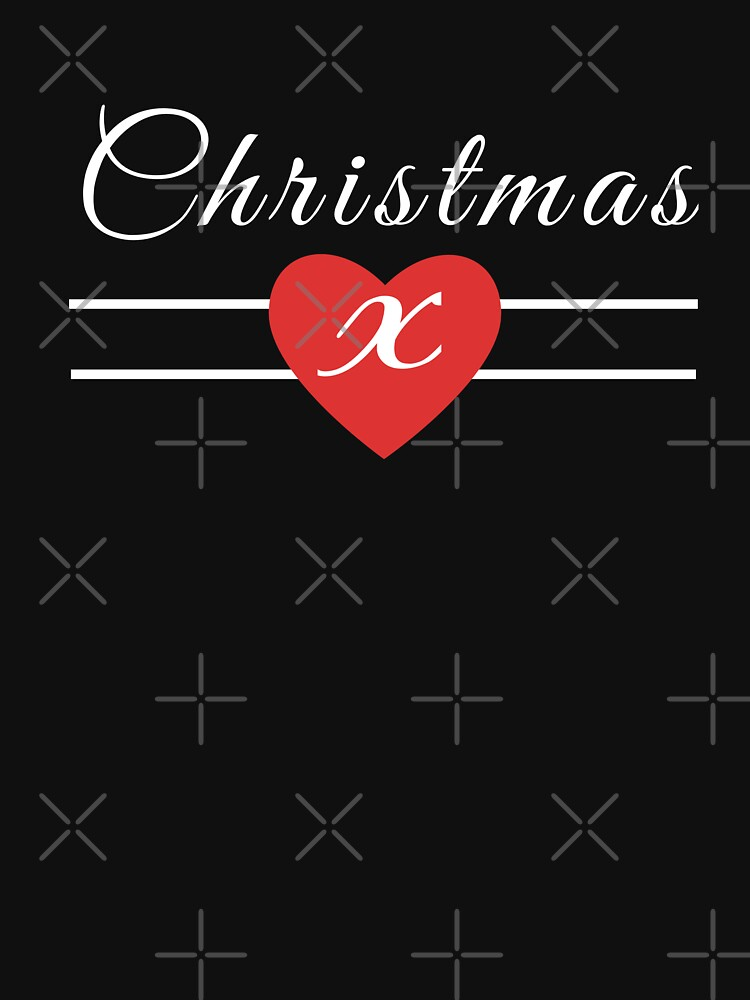 Christmas - Red Heart of Love and a Kiss (Design Day 306) by TNTs