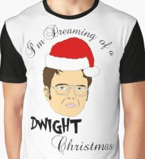 Dwight Christmas  Graphic T-Shirt