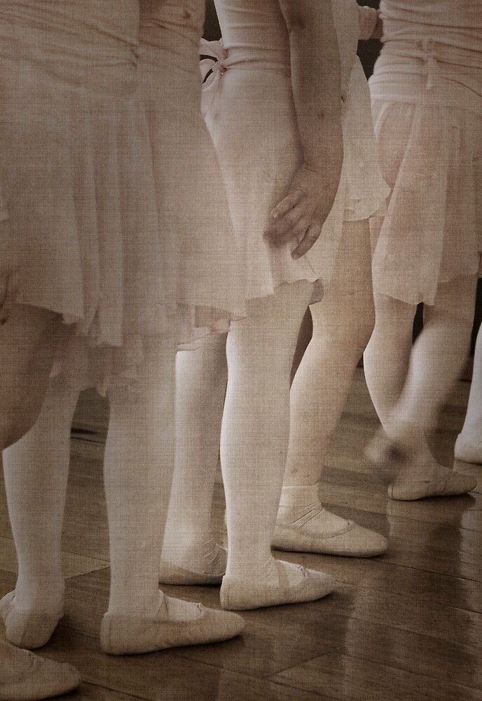 Ballet Babes - Aged by Pam McLure