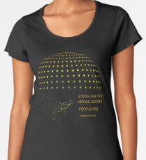 Chomsky Morals Women's Premium T-Shirt