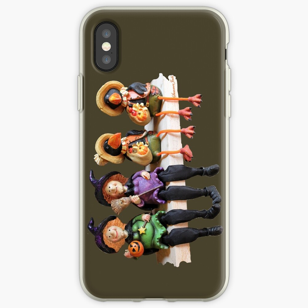 Tell Us A Happy Halloween Story! iPhone Case & Cover