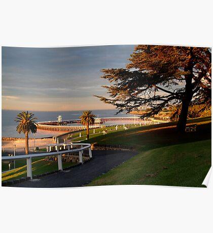 Eastern Beach Geelong. Poster