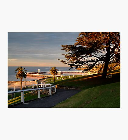 Eastern Beach Geelong. Photographic Print