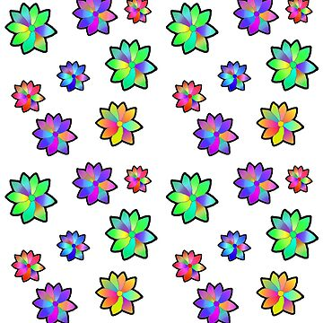 Flowers pattern by jeremygwa