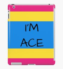 Panromantic Flag Asexuality I'm Ace Asexual T-Shirt iPad Case/Skin