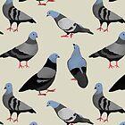 Design 33 - The Pigeons by Davida Fernandez