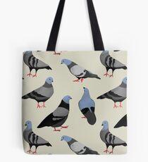 Design 33 - The Pigeons Tote Bag