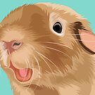 Teddy the Guinea Pig by Alittlebitiffy