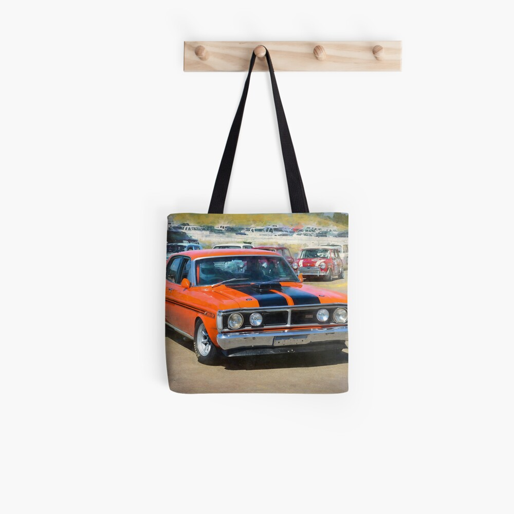 Red XY Ford Falcon 351GT Tote Bag