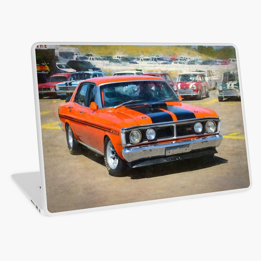 Red XY Ford Falcon 351GT Laptop Skin