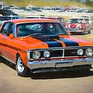 Red XY Ford Falcon 351GT by Stuart Row