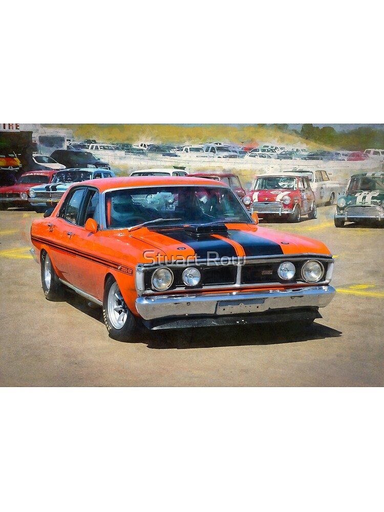 Red XY Ford Falcon 351GT by StuartRow