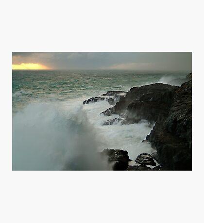 Storm,Cape Bridgewater Photographic Print