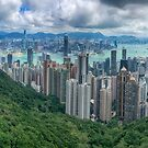 Hong Kong from the Peak by Mark Higgins