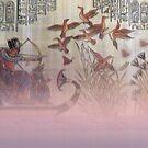 Old Egyptian Art Enhanced With Soft Light by hurmerinta