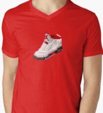 Air jordan V cube pixel Mens V-Neck T-Shirt
