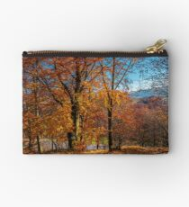 autumn spirits in the woods Studio Pouch