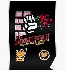 NES Style: Democratic socialist Poster
