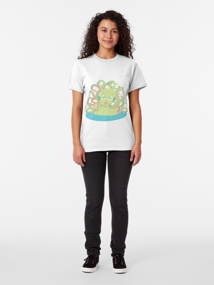 Alternate view of Tentacle Grl Classic T-Shirt