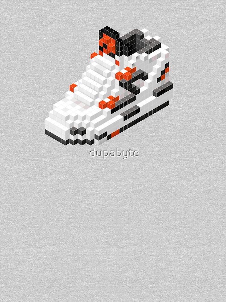 The Pump Pixel 3D Sneaker by dupabyte