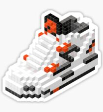 The Pump Pixel 3D Sneaker Sticker