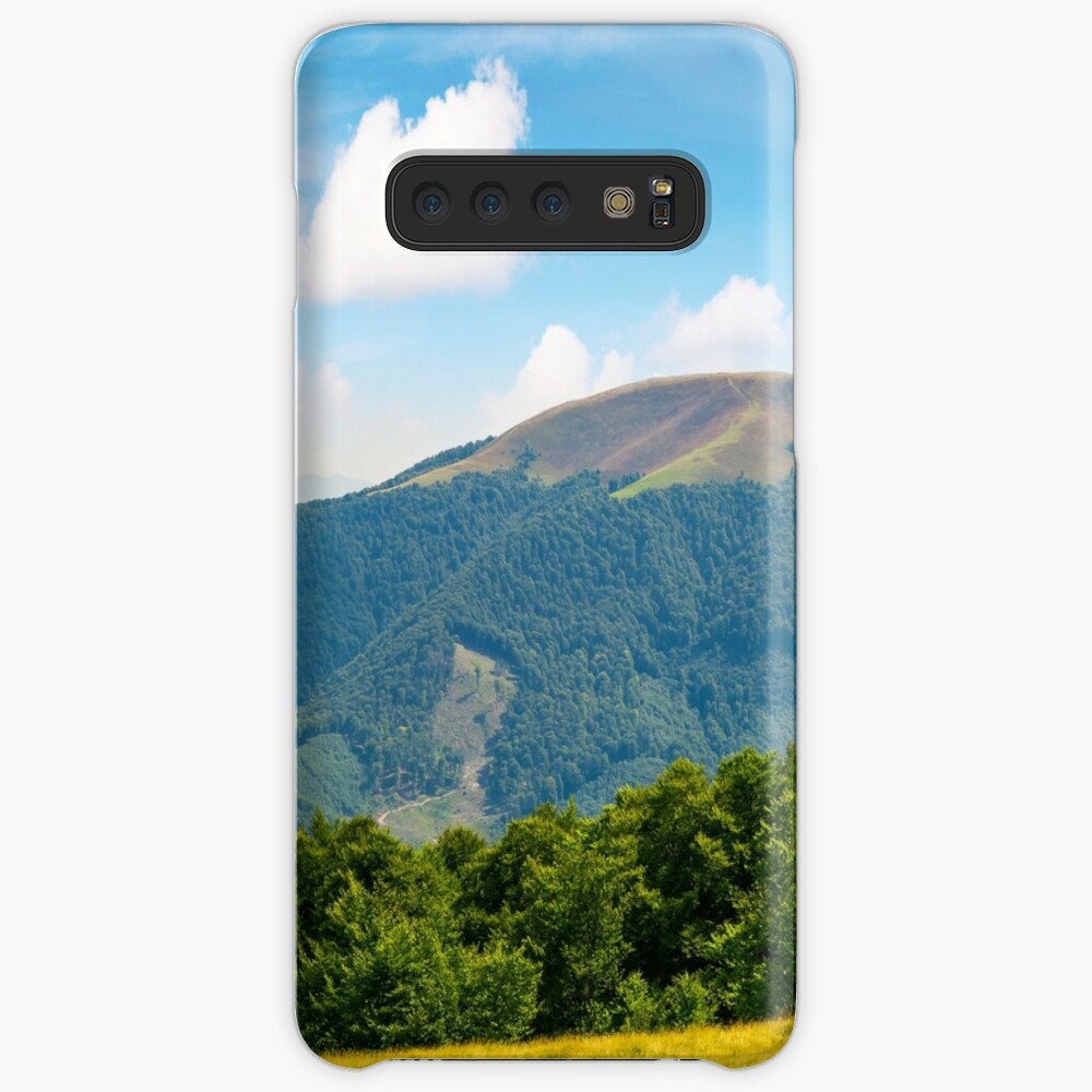 panoramic scene of a summer landscape Samsung Galaxy Snap Case