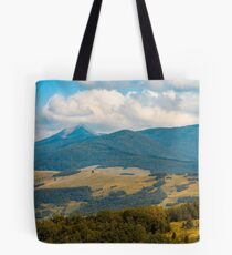 beautiful hilly countryside in autumn Tote Bag