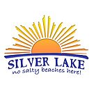 SILVER LAKE - No Salty Beaches Here! Funny Sun Souvenir Graphic by lmaoshop