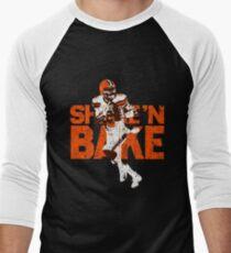 Shake n Baker Mayfield Men s Baseball ¾ T-Shirt 328c40ba6