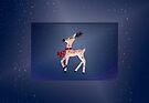 Christmas Reindeer by Sara Sadler