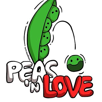Peas 'n Love by raysan