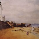 Queenscliff lighthouse, Victoria by Mick Kupresanin