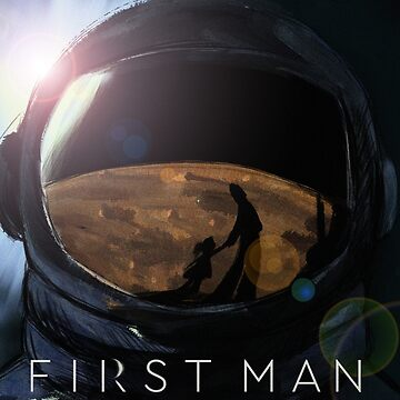 First Man Poster Fan Art by Garbancitalicia